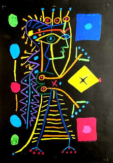 La Femme Aux Des AP (Jacqueline) 1958 Limited Edition Print - Pablo Picasso