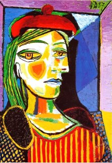 Beyerler Exhibition Poster: The Painter And His Models 1986 Limited Edition Print by Pablo Picasso