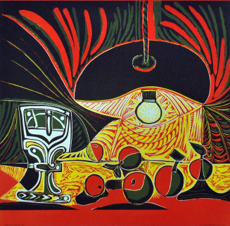 Picasso Linocuts 1958–1963  Poster  1969 Limited Edition Print - Pablo Picasso