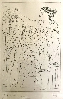 Serment Des Femmes 1934 Bloch 267 Limited Edition Print by Pablo Picasso