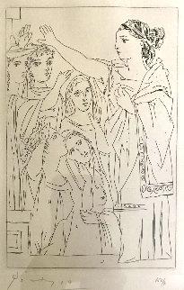 Serment Des Femmes 1934 Bloch 267 Limited Edition Print - Pablo Picasso