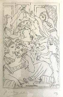 Le Festin 1934 Bloch 272 Limited Edition Print - Pablo Picasso