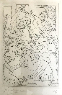 Le Festin 1934 Bloch 272 Limited Edition Print by Pablo Picasso