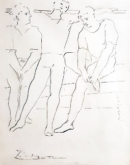 Grace Et Mouvement 1943 Limited Edition Print - Pablo Picasso