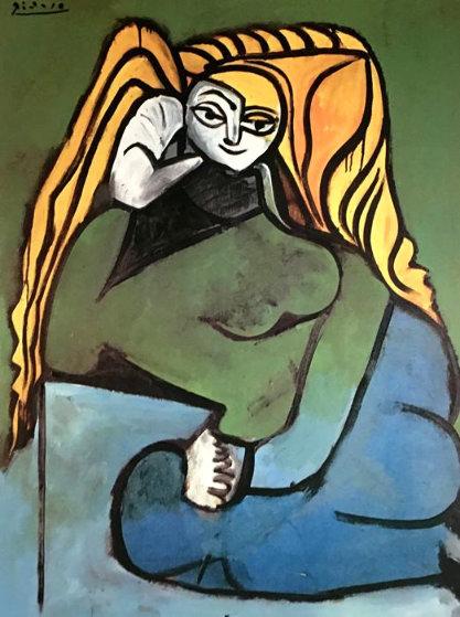 Femme Aux Cheveux Blonds 1971 Limited Edition Print by Pablo Picasso