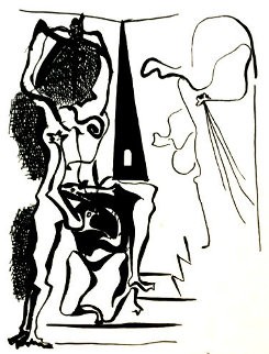 Helene Chez Archimede IX 1972 Limited Edition Print by Pablo Picasso