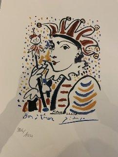 Carnaval  La Folie 1958  Limited Edition Print by Pablo Picasso