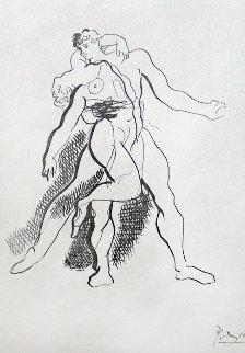 Grace And Mouvement Portfolio, 14 Plates 1943 Limited Edition Print by Pablo Picasso