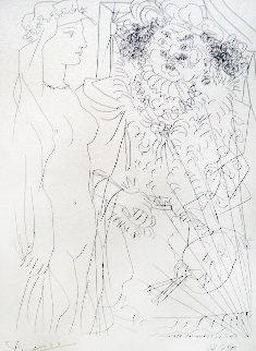Rembrandt Et Femme Au Voile 1934 (Bloch 214) HS Limited Edition Print - Pablo Picasso