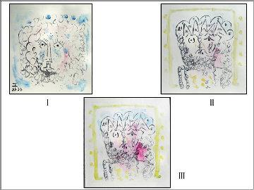 3 Aquatints Limited Edition Print - Pablo Picasso