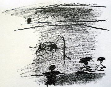 A Los Toros Avec Picasso: Les Banderilles, 1961 Limited Edition Print by Pablo Picasso