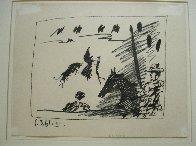Los Toros – Jeu De La Cape 1961 Limited Edition Print by Pablo Picasso - 6