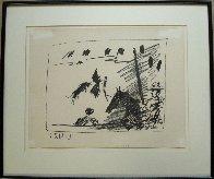 Los Toros – Jeu De La Cape 1961 Limited Edition Print by Pablo Picasso - 2