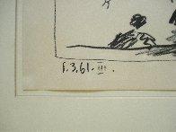 Los Toros – Jeu De La Cape 1961 Limited Edition Print by Pablo Picasso - 3