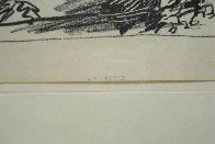 Los Toros – Jeu De La Cape 1961 Limited Edition Print by Pablo Picasso - 4