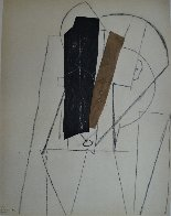 Papiers Colles 1910-1914 (Tete D'homme) 1966 Limited Edition Print by Pablo Picasso - 2