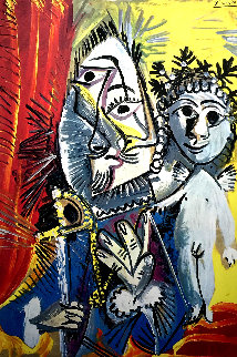 Amour Et Mousquetaire 1971 Limited Edition Print by Pablo Picasso