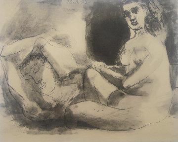l'homme Et La Femme 1967 Limited Edition Print - Pablo Picasso