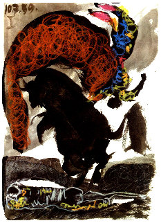Toros Y Toreros 1959 Limited Edition Print by Pablo Picasso