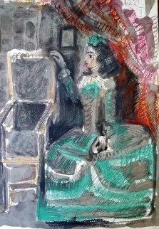 Jacqueline 1961 HS Limited Edition Print - Pablo Picasso
