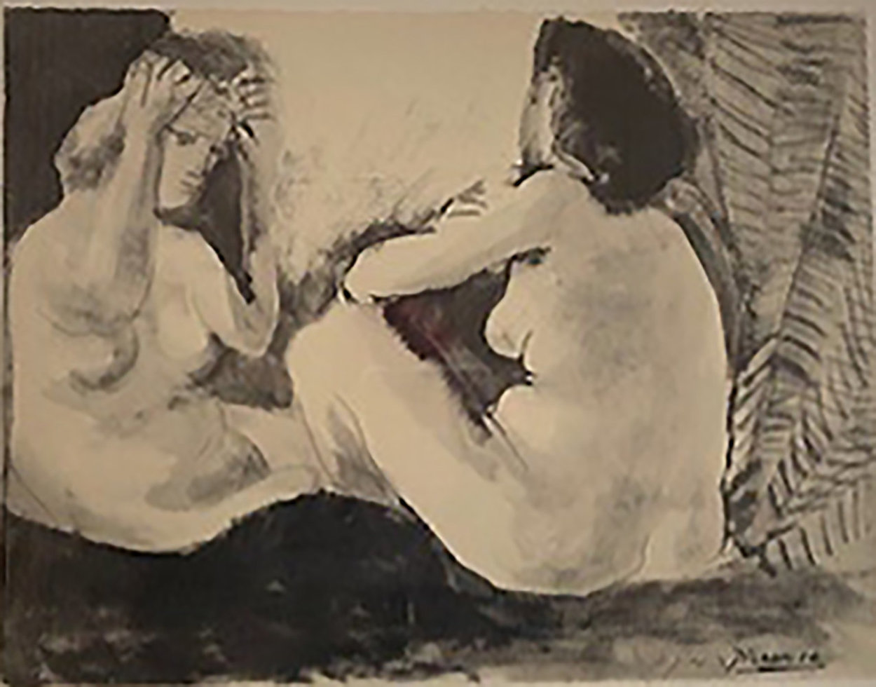 Deux Femmes Nues 1967 Limited Edition Print by Pablo Picasso
