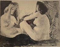 Deux Femmes Nues 1967 Limited Edition Print by Pablo Picasso - 0
