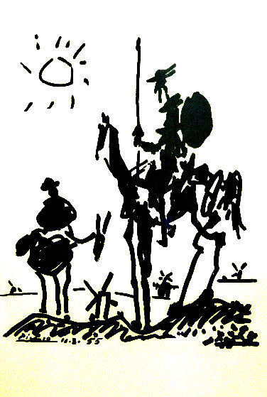 Don Quixote 1955 Limited Edition Print by Pablo Picasso