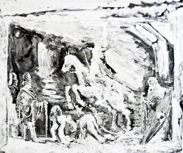 Rapt Avec Celestine, Ruffian, Fille Et Seigneur Avec Son Valet 1968 Limited Edition Print - Pablo Picasso
