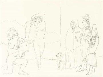 La Danse Des Banderilles 1954 Limited Edition Print - Pablo Picasso