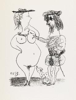 Le Seigneur Et La Dame 1959 Limited Edition Print - Pablo Picasso