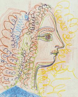 Femme De Profil 1970 Limited Edition Print - Pablo Picasso