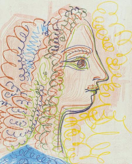 Femme De Profil 1970 Limited Edition Print by Pablo Picasso