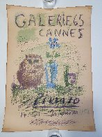Galerie 65 Cannes Poster 1956 Limited Edition Print by Pablo Picasso - 1