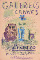 Galerie 65 Cannes Poster 1956 Limited Edition Print by Pablo Picasso - 0