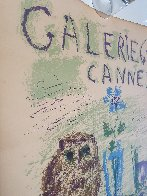 Galerie 65 Cannes Poster 1956 Limited Edition Print by Pablo Picasso - 4