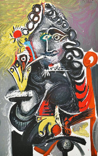 Smoker Limited Edition Print - Pablo Picasso