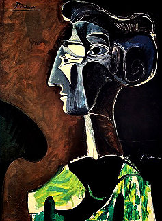 Grand Profil Poster 1963 Limited Edition Print by Pablo Picasso