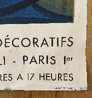 Musee Des Arts Decoratifs Paris - June / October Poster 1955 Limited Edition Print by Pablo Picasso - 4