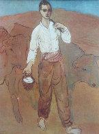 Garçon Avec Du Bétail 1959 Limited Edition Print by Pablo Picasso - 2