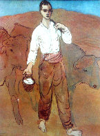 Garçon Avec Du Bétail 1959 Limited Edition Print by Pablo Picasso - 0