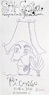 Sala Gaspa, Pintura - Dibujo Poster 1971 Huge 47x39 Limited Edition Print - Pablo Picasso