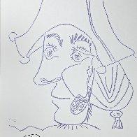 Sala Gaspa, Pintura - Dibujo Poster 1971 Limited Edition Print by Pablo Picasso - 1
