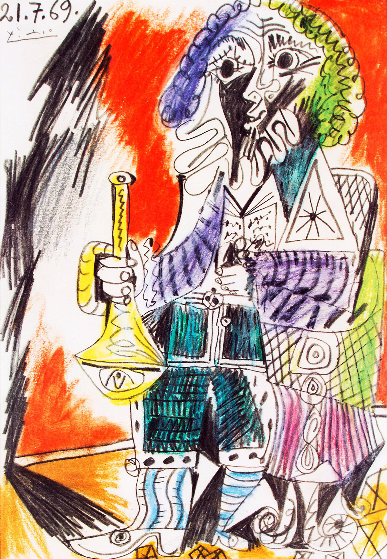 Marlborough - Saidenberg, New York Poster  1971 Other by Pablo Picasso