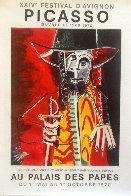 XXIV Festival D'avignon Poster HS 1970 Limited Edition Print by Pablo Picasso - 1