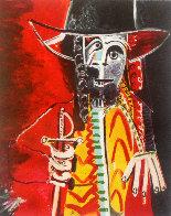 XXIV Festival D'avignon Poster HS 1970 Limited Edition Print by Pablo Picasso - 2