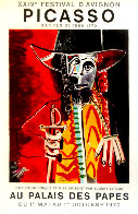 XXIV Festival D'avignon Poster HS 1970 Limited Edition Print by Pablo Picasso - 0