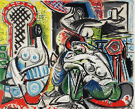 l'Heritage De Delacroix Poster 1964 (Early) Limited Edition Print by Pablo Picasso - 2