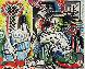 l'Heritage De Delacroix Poster 1964 Limited Edition Print by Pablo Picasso - 2