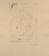 Modele Et Grande Tete Sculpte 1933  Limited Edition Print by Pablo Picasso - 1