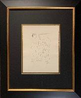 Modele Et Grande Tete Sculpte 1933  Limited Edition Print by Pablo Picasso - 2